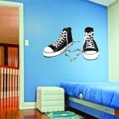 Autocolante decorativo sapatos