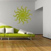 Autocolante decorativo sol