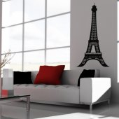 Autocolante decorativo torre Eiffel