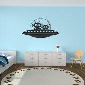 Autocolante decorativo UFO