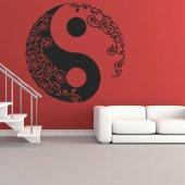 Autocolante decorativo ying yang