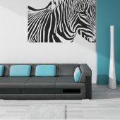Autocolante decorativo zebra