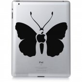Autocolante ipad 2 borboleta