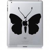 Autocolante ipad 3 borboleta