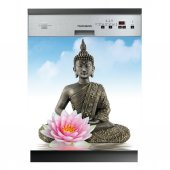 Autocolante Lava-louças Buda