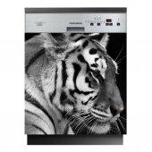 Autocolante Lava-louças tigre