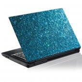 Autocolante para computador portátil cristais azuis
