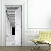 Autocolante para porta corredor