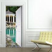 Autocolante para porta piscina