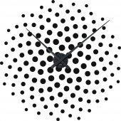 Autocolante relógios de parede espiral