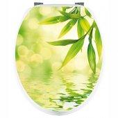 Autocolante tampo de sanita folhas