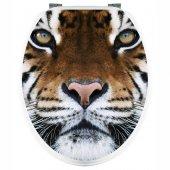 Autocolante tampo de sanita Tigre