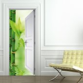 Bamboo Door Stickers