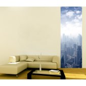 Banner City Wall Sticker