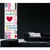 Banner Fashion Wall Sticker