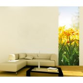Banner Flowers Wall Sticker