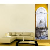Banner Fountain Wall Sticker