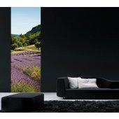 Banner Lavender Wall Sticker