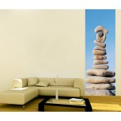 Banner Pebbles Wall Sticker