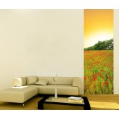 Banner Poppies Wall Sticker