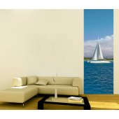 Banner Yacht Wall Sticker