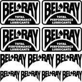 bel ray Decal Stickers kit