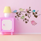 Birds Branch Wall Stickers