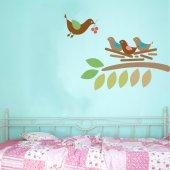 Birds Branch Wall Stickers
