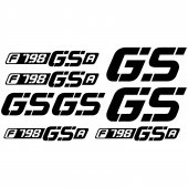 Bmw f 798gsa Decal Stickers kit