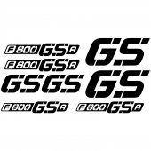 Bmw f 800gsa Decal Stickers kit