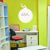 Bomb - Whiteboard Wall Stickers