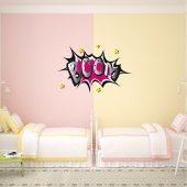 Boom Wall Stickers