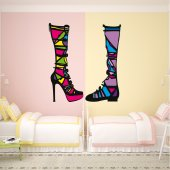 Boots Wall Stickers