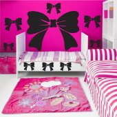 Bow tie Set Wall Stickers