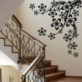 Branch Cherry Wall Stickers