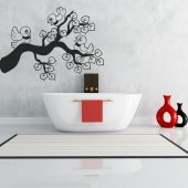 Branch with Birds Wall Stickers