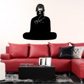 Buddha - Chalkboard / Blackboard Wall Stickers