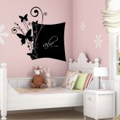 Butterflies - Chalkboard / Blackboard Wall Stickers