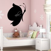 Butterfly - Chalkboard / Blackboard Wall Stickers