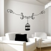 Cage Wall Stickers