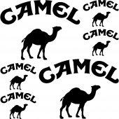 Camel Aufkleber-Set