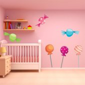Candy Wall Stickers