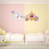 Carriage Wall Stickers