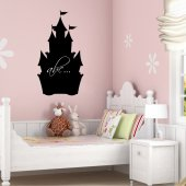 Castle Chalkboard / Blackboard Wall Stickers