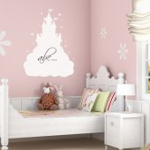 Castle Whiteboard Wall Stickers