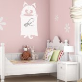 Cat - Whiteboard Wall Stickers
