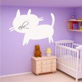 Cat - Whiteboard Wall Stickers