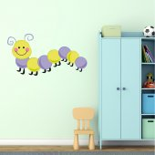 Caterpillar Wall Stickers