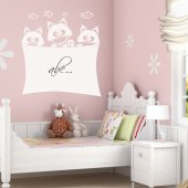 Cats - Whiteboard Wall Stickers