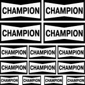 champion Decal Stickers kit